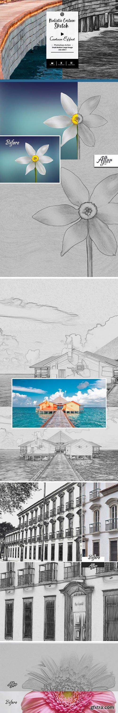 GraphicRiver - Cartoon Sketch Effect Photoshop Action 25571393