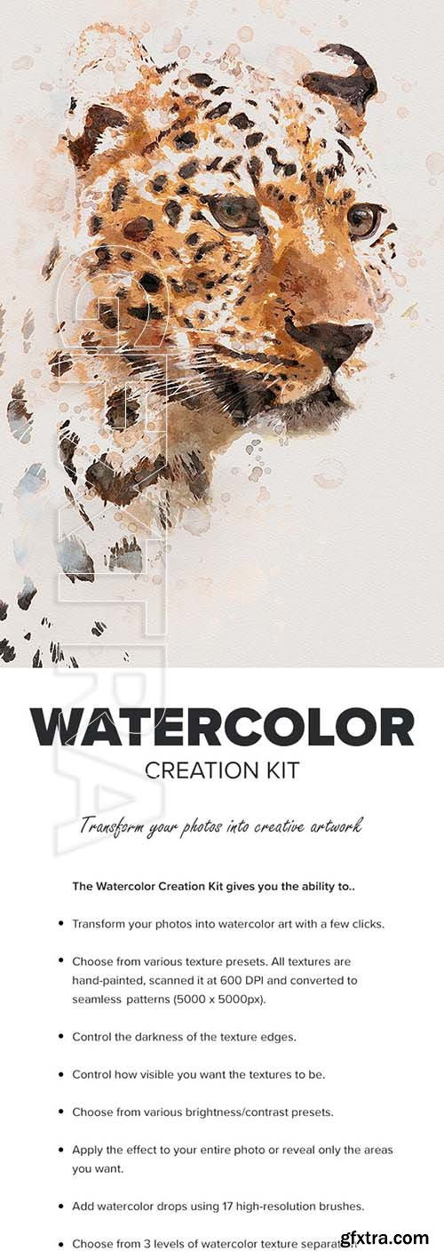 GraphicRiver - Watercolor Creation Kit 25712696