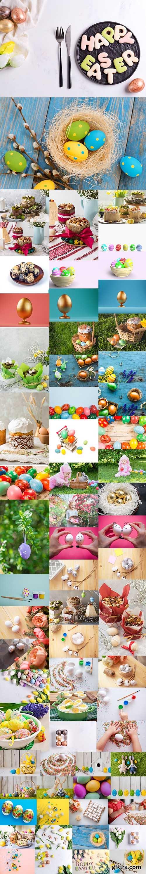 Happy Easter Holiday Photo Bundle - Premium UHQ JPEG Stock Photo