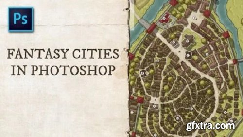 Fantasy Cities in Photoshop