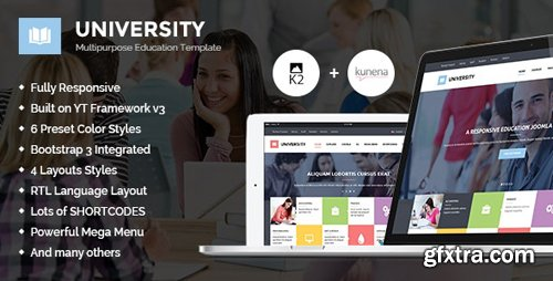 ThemeForest - University II v3.9.6 - Multipurpose Education Template - 11262557