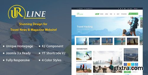 ThemeForest - Urline v3.9.6 - Responsive Travel News Joomla Template - 18175595