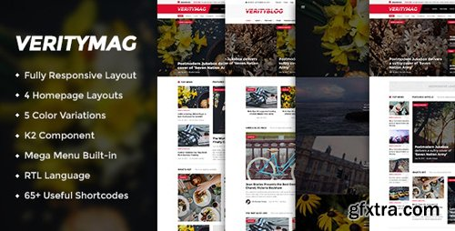 ThemeForest - VerityMag v3.9.6 - Creative News/Magazine Joomla Template - 14403605