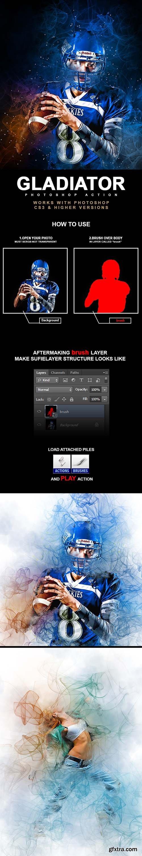 GraphicRiver - Gladiator Photoshop Action 25596174