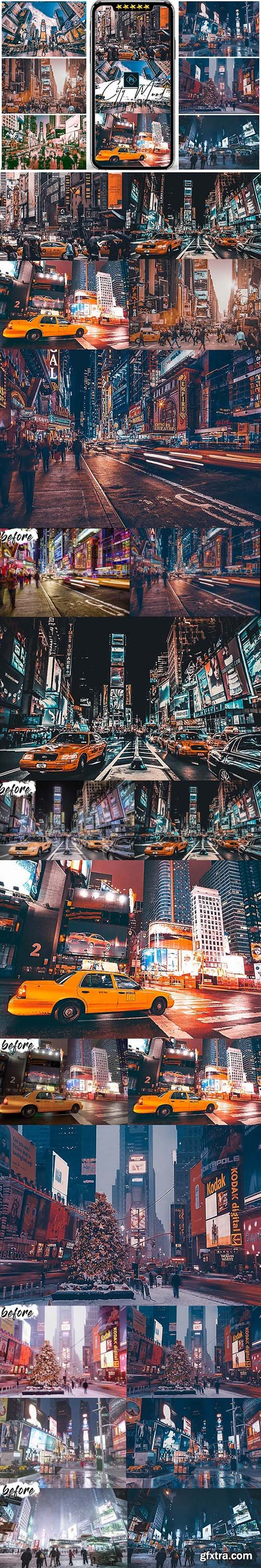 GraphicRiver - City Mood Photoshop Actions 25578371