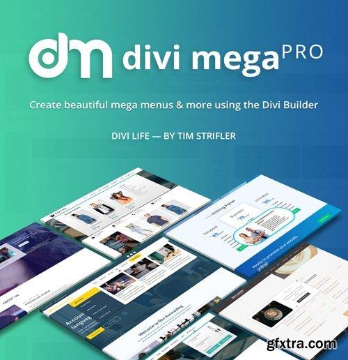 DiviLife - Divi Mega Pro v1.8.0 - Plugin For Divi Theme - NULLED