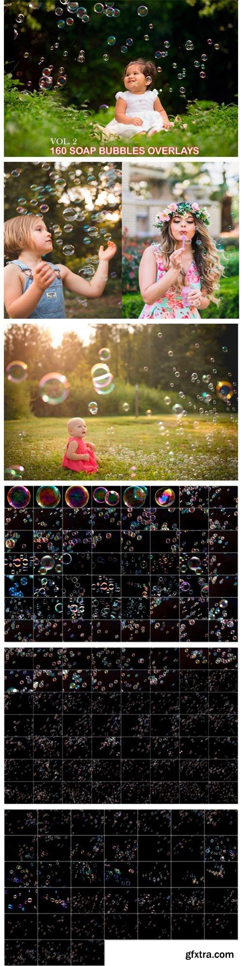 160 Soap Bubbles Photoshop Overlays 3012071