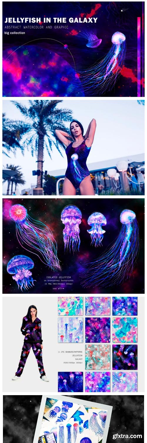 Jellyfish in the Galaxy 3011957