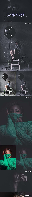 GraphicRiver - Dark Night Photoshop Action 25606778
