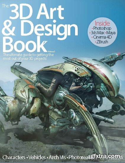 3D Art & Design Book
