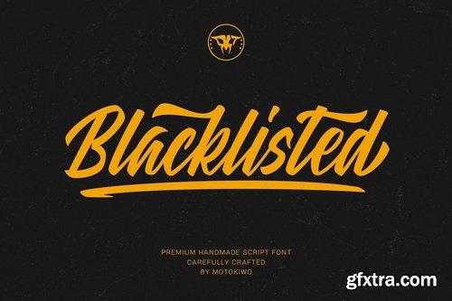 CM - Blacklisted - Vintage Script Font - 4608241