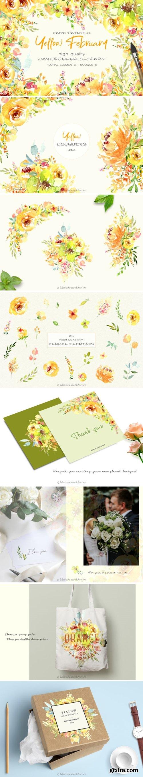 Watercolor Flowers 3016297