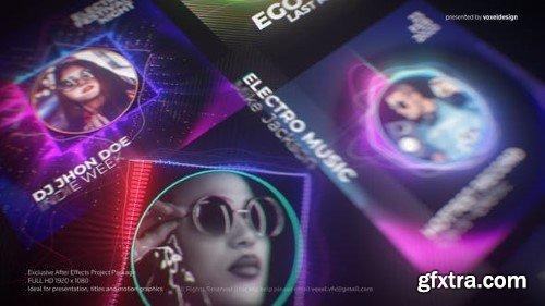Videohive DJ Artist Music Visualizer 25811995