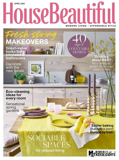 House Beautiful UK - April 2020