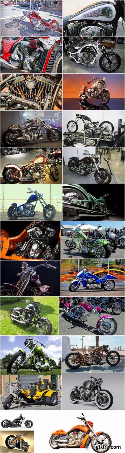 Motorcycle Chopper custom bike building 25 HQ Jpeg