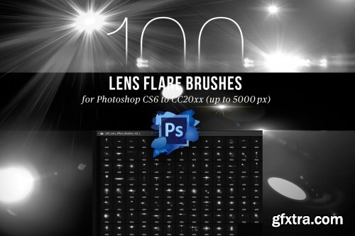 CreativeMarket - 100 Lens Effect Brushes for PS Vol 1 4443103