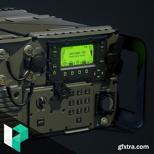 ArtStation - Creating a Military Radio