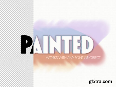 Paint Brushtroke Text Effect 322370767