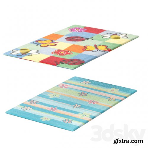 Collection of children carpets 1