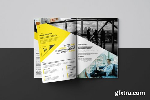 CreativeMarket - Business Proposal Template's 4493091