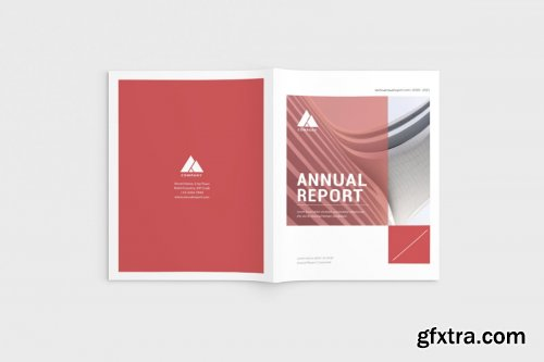 CreativeMarket - Red Corporate Brochure 4588386