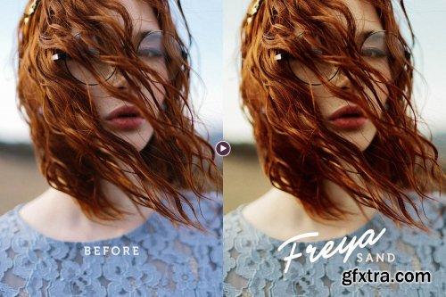 CreativeMarket - Freya Portrait Action for Photoshop 4580363