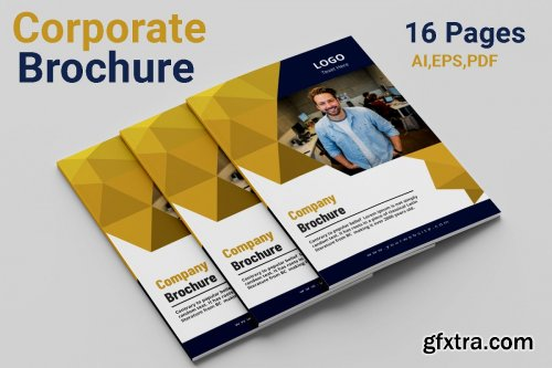 CreativeMarket - Corporate Brochure 4462676