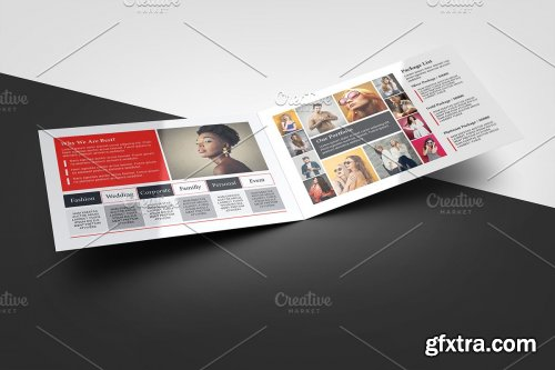 CreativeMarket - Photography Brochure Template V942 4275733