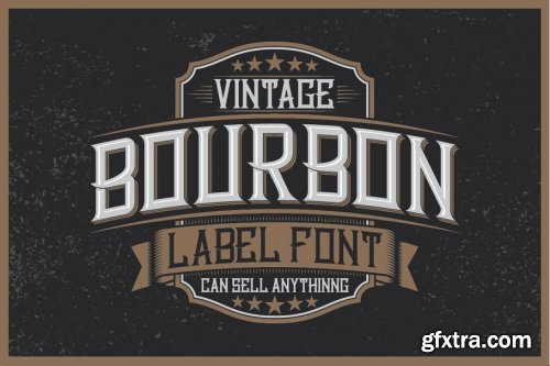 CreativeMarket - Whiskey Fonts Bundle 4577974