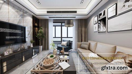 360 Interior Design Livingroom / Diningroom 03