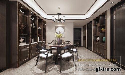 360 Interior Design Livingroom / Diningroom 06