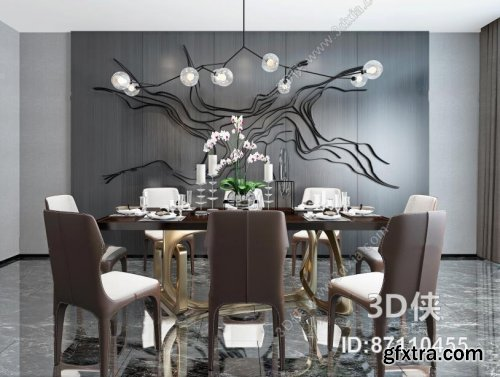 Dining Table Sets with Chairs 57