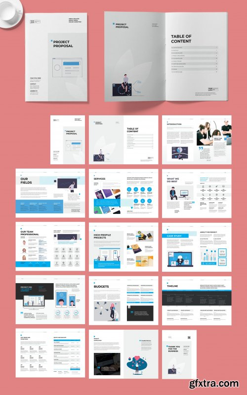 CreativeMarket - Project Proposal Template 4579387