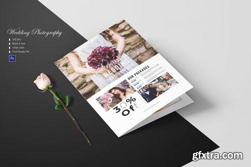 CreativeMarket - Wedding Photography Brochure 4342263