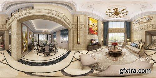 360 Interior Design Livingroom / Diningroom 17