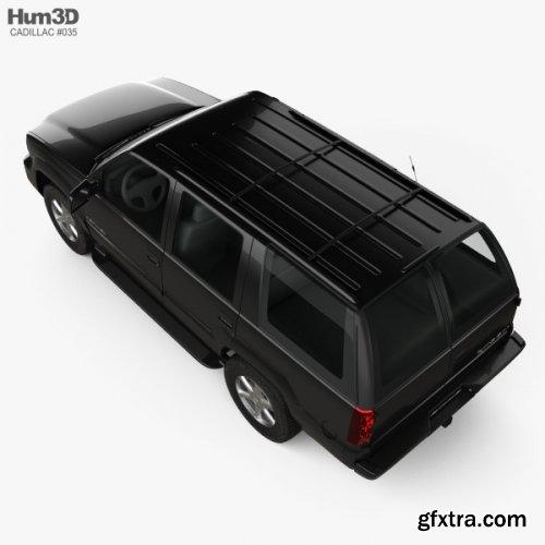 Cadillac Escalade 1999 3D model