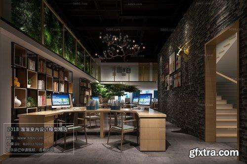 Modern Public Office Area 02