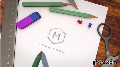 Hand Drawn In Pencil Logo - After Effects 346369