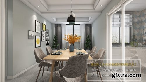 360 Interior Design Livingroom / Diningroom 19