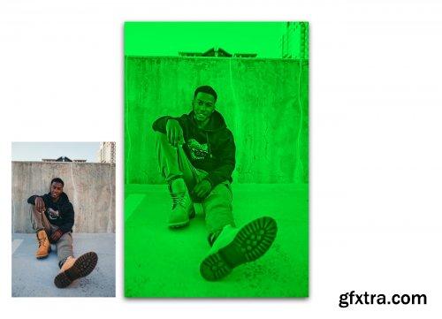 CreativeMarket - Duotone Photoshop Action 4583597
