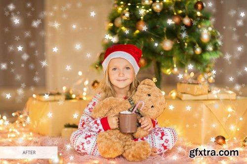 CreativeMarket - Star Bokeh Photoshop Overlays 4548423