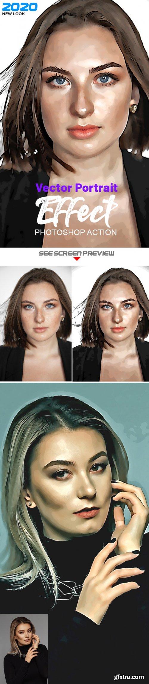 GraphicRiver - Vector Portrait Photoshop Effect 25610205