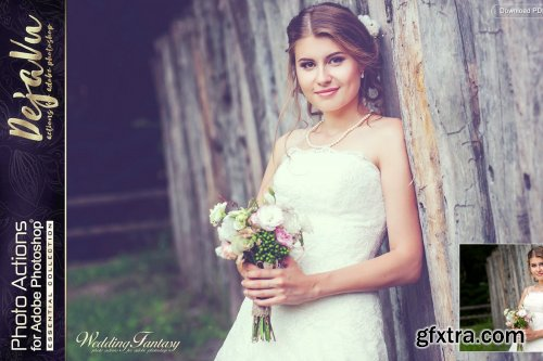 CreativeMarket - Actions for Photoshop / Wedding ( full ) 4469548