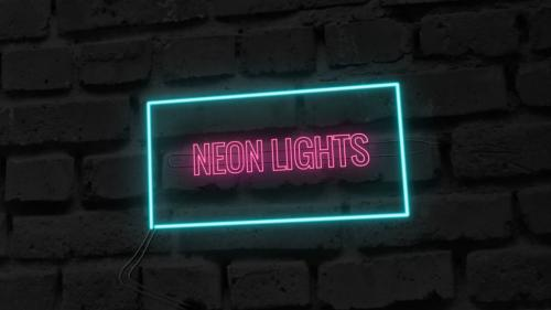 Neon Lights: After Effects Template - 10694711