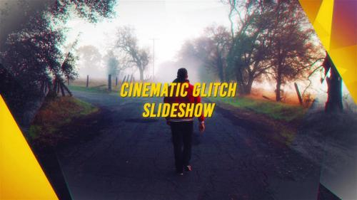Cinematic Glitch Slideshow - 10701296