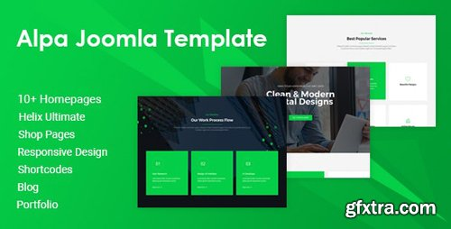 ThemeForest - Alpa v1.1.1 - Responsive Multipurpose Joomla Website Template - 25169973