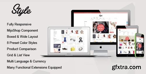 ThemeForest - Style v1.3.0 - Responsive Multipurpose MijoShop Template - 8846492
