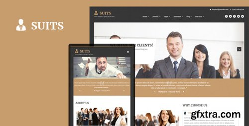 ThemeForest - Suits v3.9.6 - Responsive Attorneys and Law Firms Joomla Template - 23180503