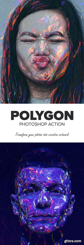 Graphicriver - Polygon Photoshop Action 25712529