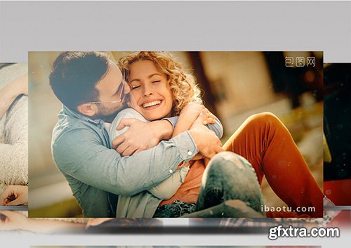 Dynamic photo Brochure title ED template